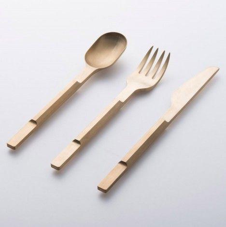 // Cutlery by Baas & Koichi