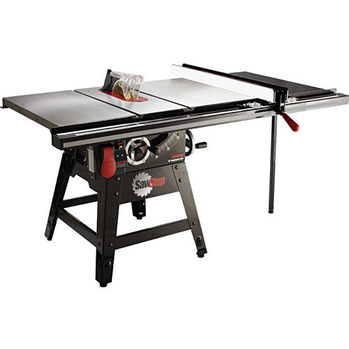 SawStop Contractor Table Saw w/36 Fence, CNS175-TGP36 - Rockler.com