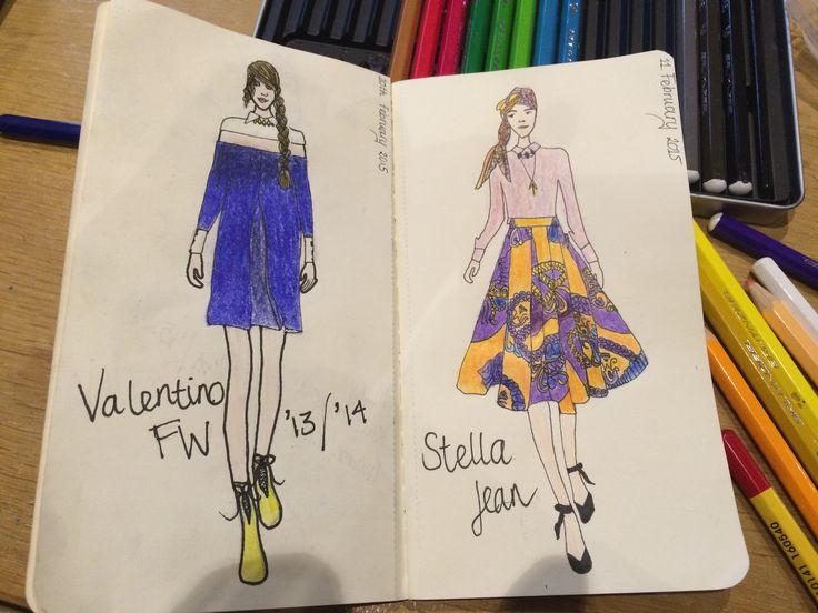 Fashion illustration by MG #2