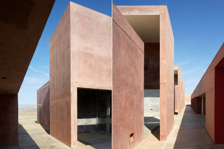 The archeological museum by Barclay & Crousse in Perù features open spaces that frame portions of the landscape and create the necessary privacy to live in the vast desert.