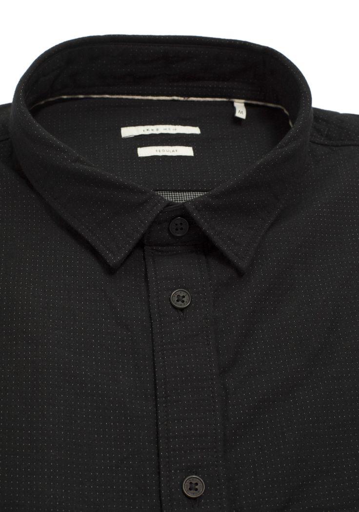 Camisa negra hombre | Primavera / Verano IKKS | Hombre