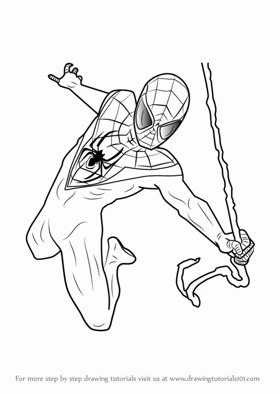 Miles Morales Coloring Pages Printable