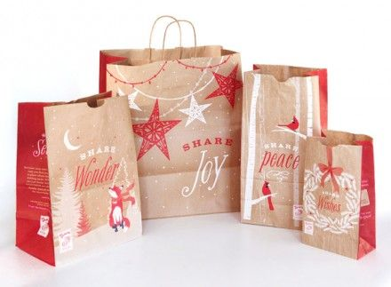 Panera holiday packaging by TOKY