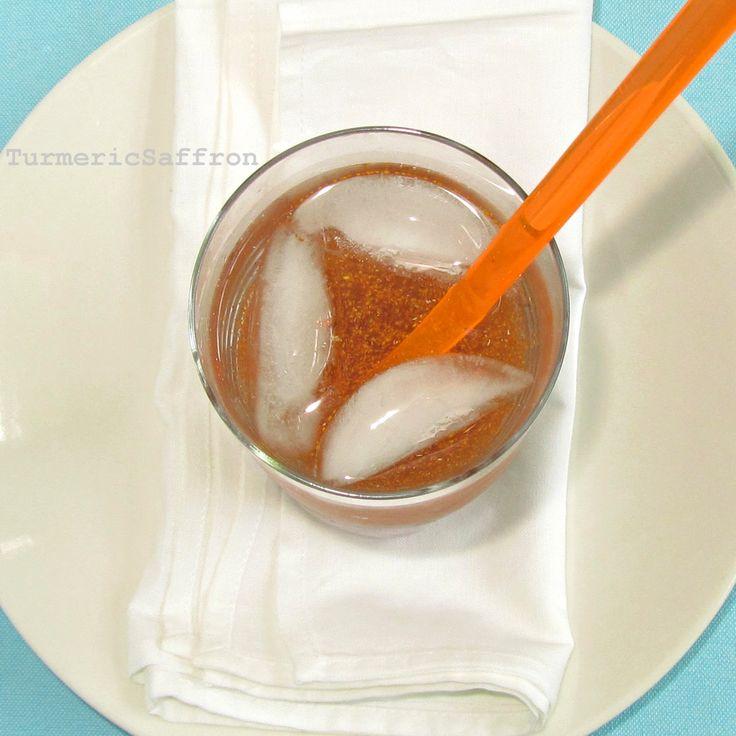 Sharbat-e Khakshir - Persian Refreshing Summer Drink