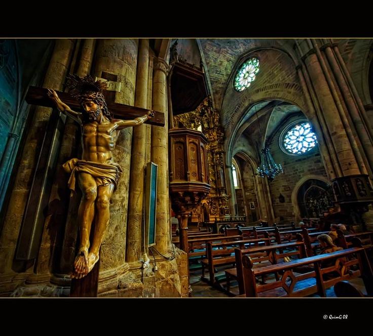 Basílica Arciprestal. Cristo en la cruz Morella