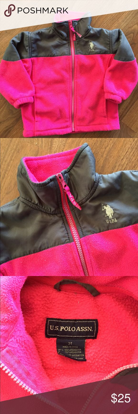 US Polo Association Toddler Fleece Excellent Used Condition.  Perfect for transitional weather! Polo by Ralph Lauren Shirts & Tops Sweatshirts & Hoodies