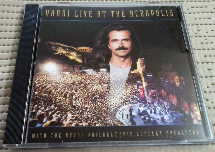 YANNI LIVE AT THE ACROPOLIS, 1994 CD ALBUM, PRIVATE MUSIC, SCRATCH FREE DISC
