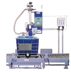 JISL Provides Liquid Filling System for filling drums, tins and jars. Drum filling system consist of weighing platform, filling nozzle and weight controller.