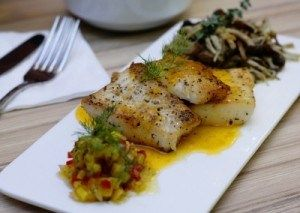 Baked Lemon Pepper Swai Fish~~ran out of Paprika and used Old Bay instead sooo yummy
