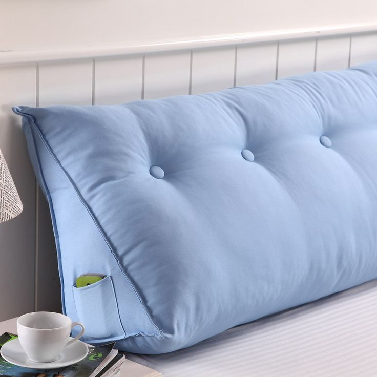 Creative Triangle Cushion Backrest Pad Double Bed