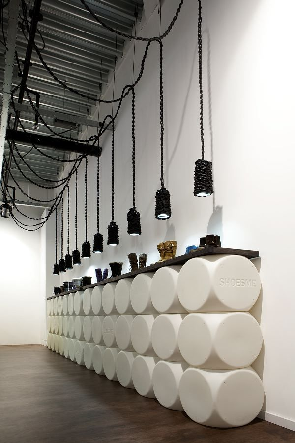Retail store - 'Shoesme' Shop Interior by Teun Fleskens Very simple and contemporary design #retaildetails