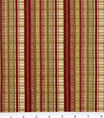 45'' Home Essentials Print Fabric-Melissa Scarlet