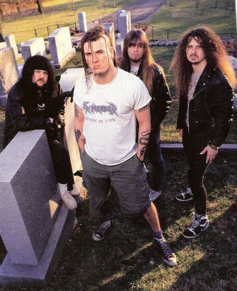pantera | Foto de Pantera — Pantera with Phil wearing an Exhorder T-shirt ...