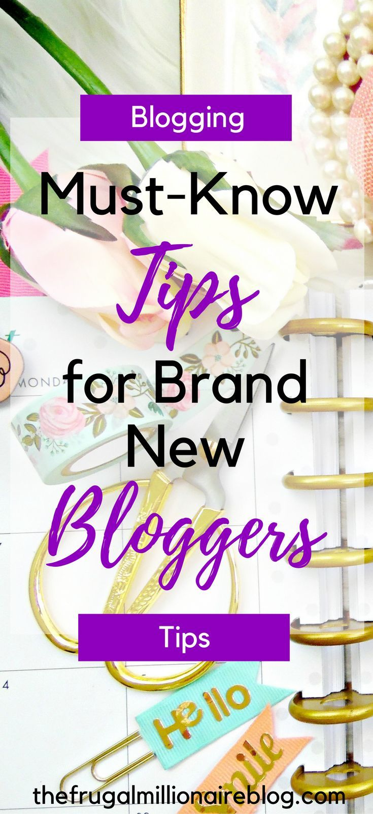 Are you new to blogging?! If so, this guide is a MUST!! These tips for brand new bloggers are so helpful and will get you started on the right foot!