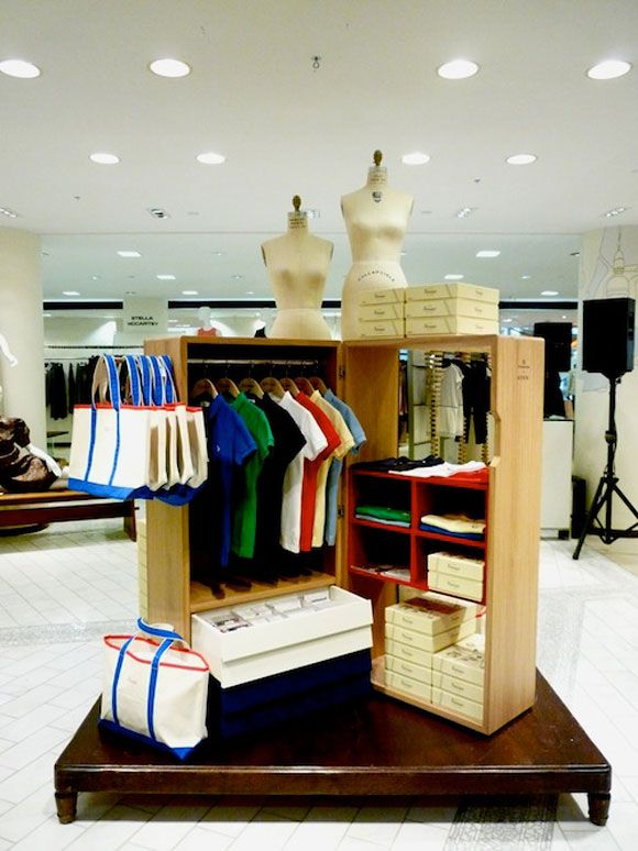 newPop Up Shop Design / Retail Design / Semi Permanent Retail Fixtures / VM / Retail Display / york: kitsuné pop-up store