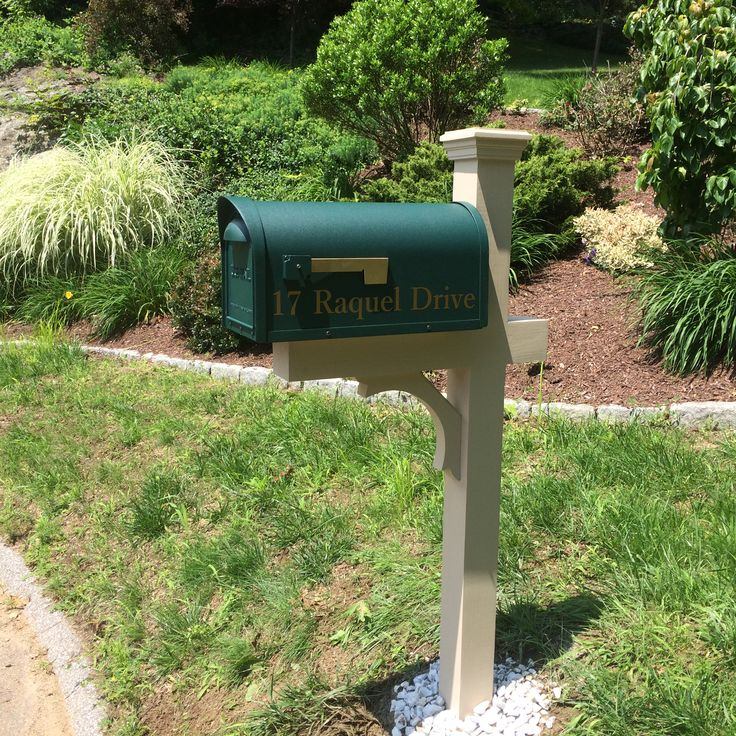 17 best images about new mailbox post and mailboxes on for Unique mailboxes with post