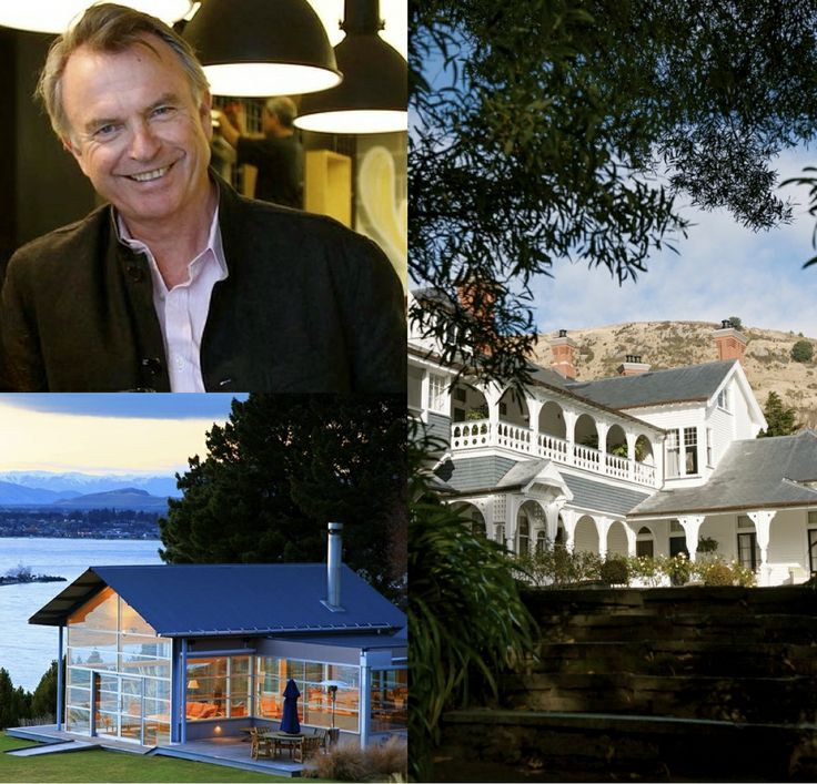 Sam Neill is one of New Zealand's best known actors. He has appeared in more than 100 movies and television productions. Follow his journey through New Zealand.  #relaischateaux #routesdubonheur #newzealand #samneill