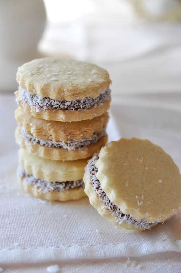 Alfajores argentinos. (recipe in Spanish, but then, it should be, shouldn't it!)