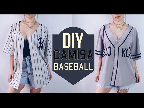 (1) DIY Camisa baseball | Baseball shirt - YouTube