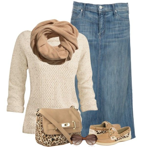 would be so cute without the scarf and shorts for spring or with just jeans for fall