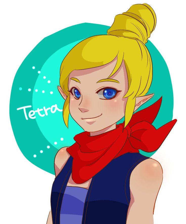 Tetra by nono | #ゼルダの伝説 #風のタクト