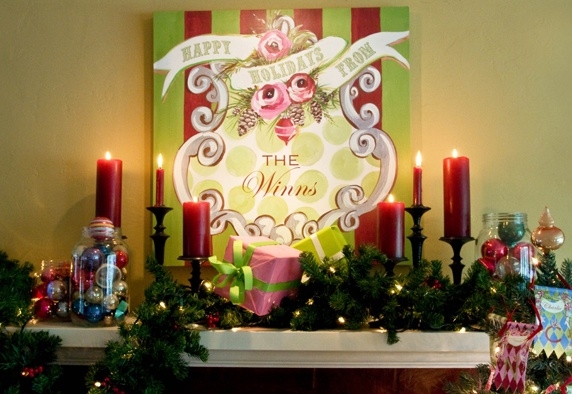 7 best Christmas images on Pinterest | Canvas art paintings ...