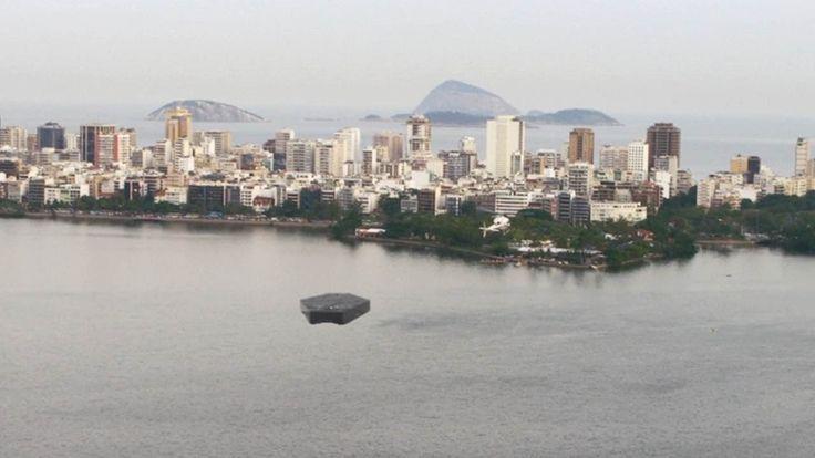 Massive UFO SIGHTING spotted over RIO DE JANEIRO !!! May 2016