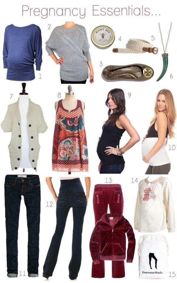 Essentialsofthe Pregnancy Wardrobe