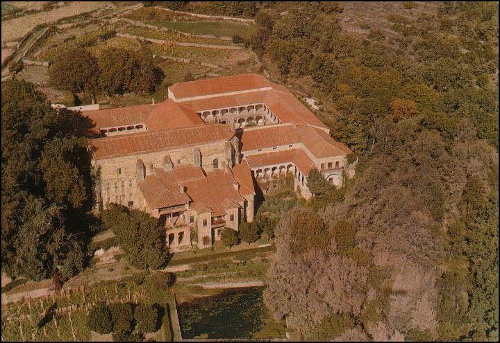 Monasterio de Yuste. Cuacos comarca de la Vera. Cáceres.  EXTREMADURA undisc...