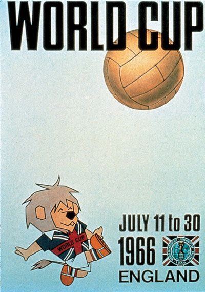 1966 World Cup England Poster #football #soccer
