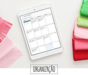 Como organizar seu calendário de posts | Blogs de Moda