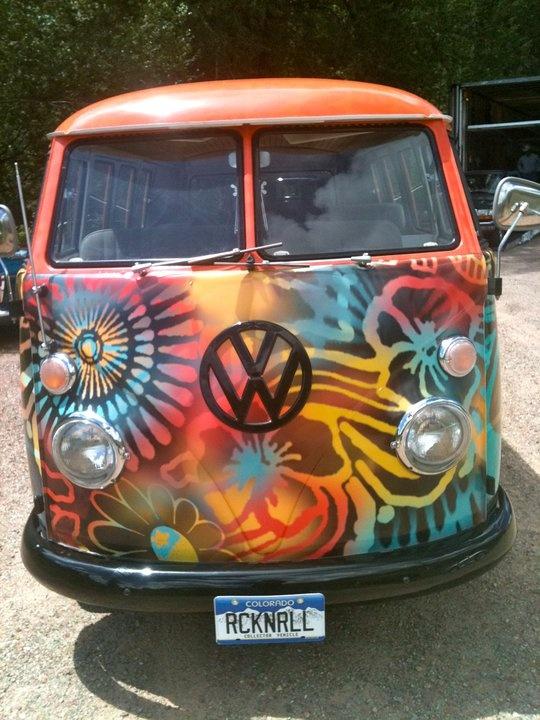 Certified VW Hippie Van