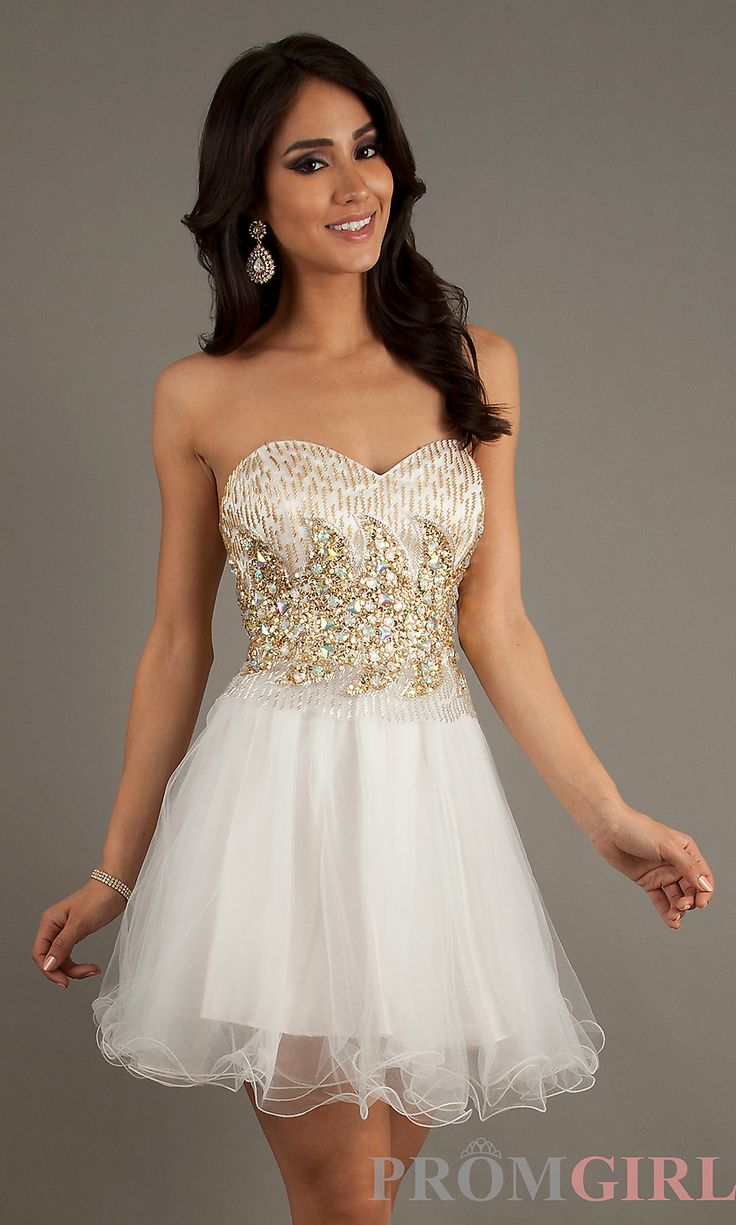 Beaded Homecoming Dresses Short Beaded Party Dresses
