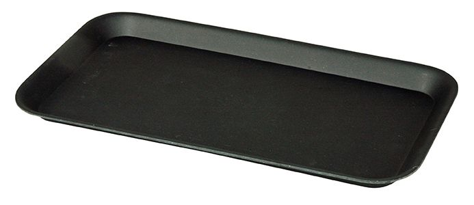 GIV-A-TRAY, serving tray. Based on biodegradable materials, like corn and bamboo-fiber