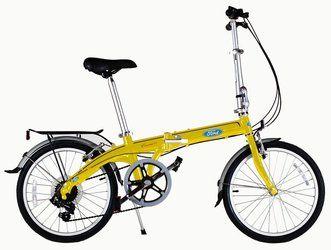 Городской велосипед DAHON Convertible Yellow (2016)