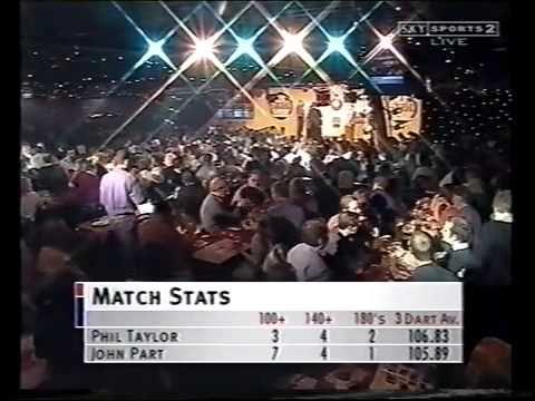 PDC WORLD DARTS 2001 FINAL - PHIL TAYLOR V JOHN PART