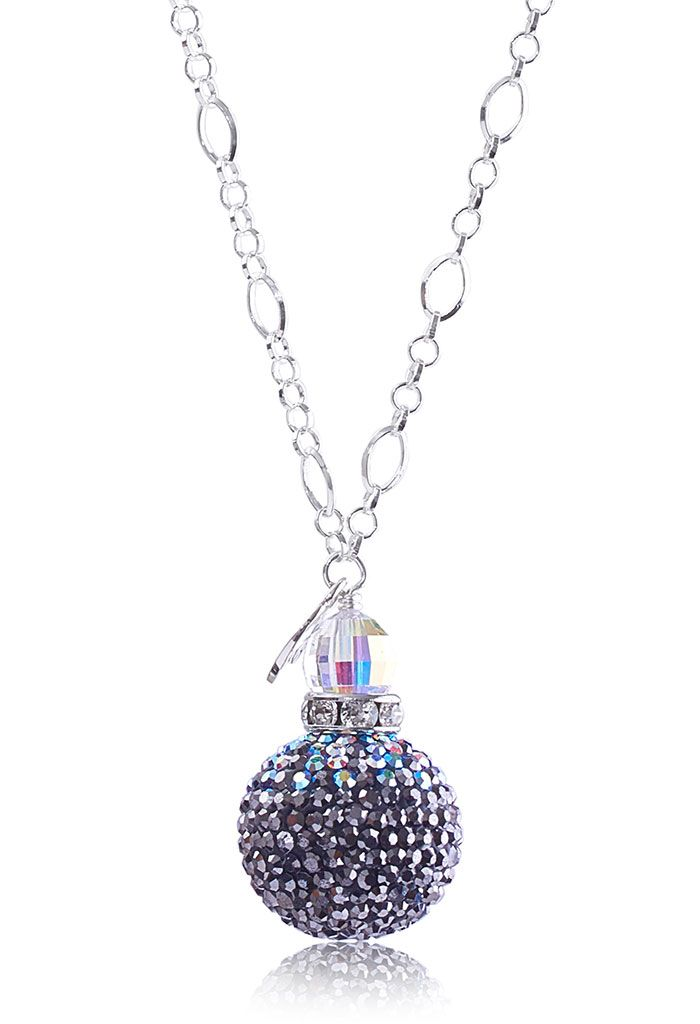 Starry Night Sparkle Ball Pendant