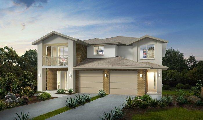 Masterton home designs aspen executive facade visit for Duplex home designs sydney