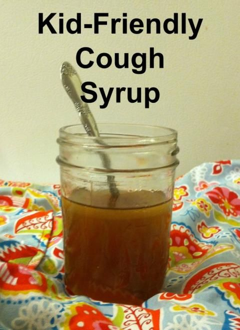 Kid friendly cough syrup; 4 Tbs lemon juice, 1/3 cup raw honey, 2 Tbs coconut oil. Melt on low. Take 1tsp at a time. Optional add-ins: oregano oil, Apple cider vinegar, cayenne pepper.