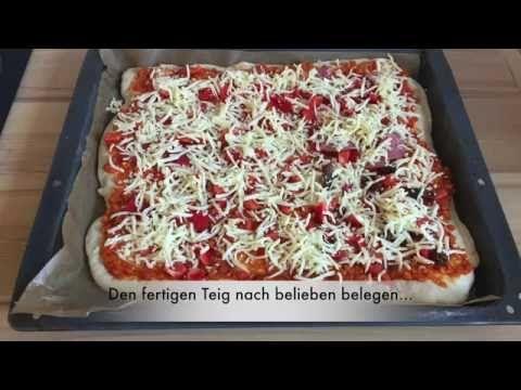 Pizzateig - Aldi Quigg/Studio Küchenmaschine (Thermomix-Klon) - YouTube