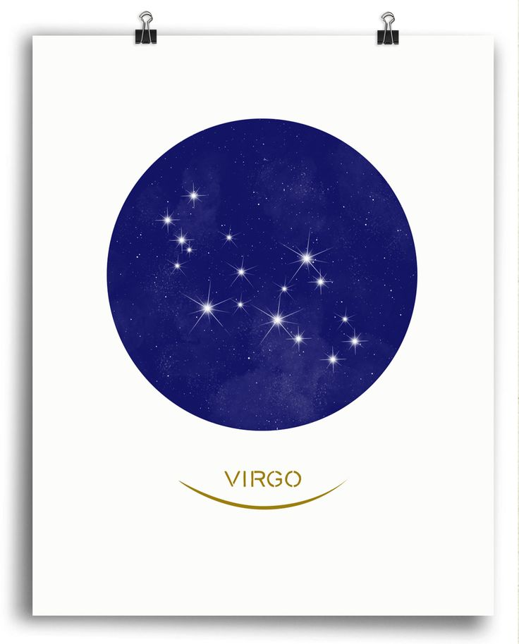 Virgo • Stars Print