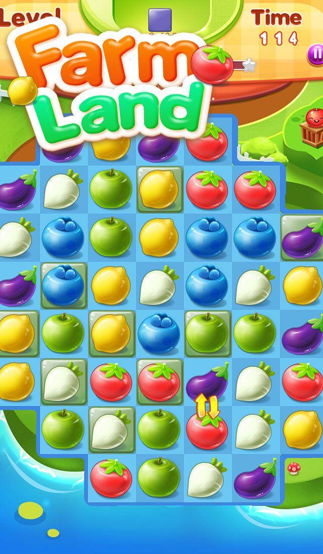 App Shopper: Farm Land:match 3 puzzle game (Games)