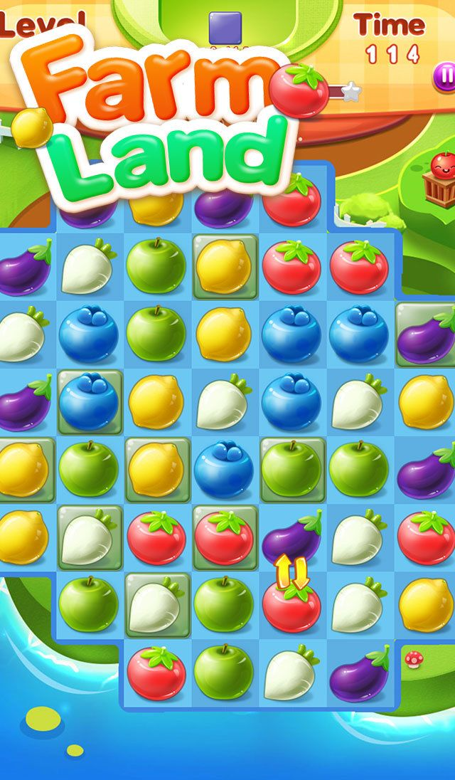 App Shopper: Farm Land:match 3 puzzle game (Games)