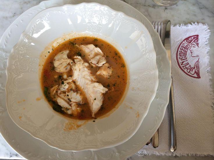 Scorfano su brodetto di pesce  #liberty #grancaffeliberty #asola #mantova #food #italy #italia #mare #pesce #ristotrante #restaurant