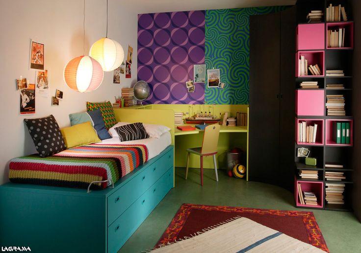 Cat logo aire avatar 12 dormitorio juvenil con una cama for Catalogo de puertas