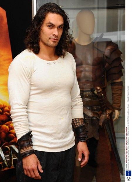 Jason Momoa - he's looking particularly evil, isn't he?