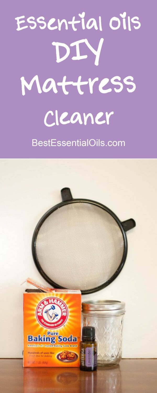 doTERRA Essential Oils DIY Mattress Cleaner Recipe