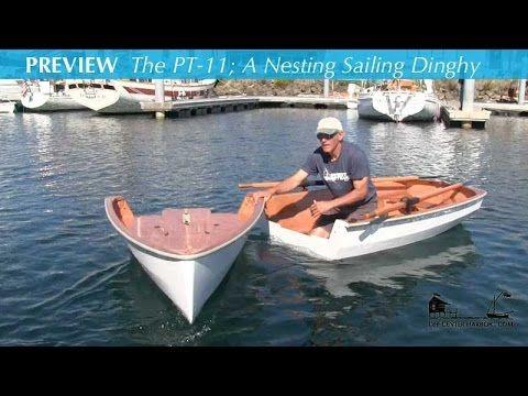 The PT-11 – A Nesting Sailing Dinghy