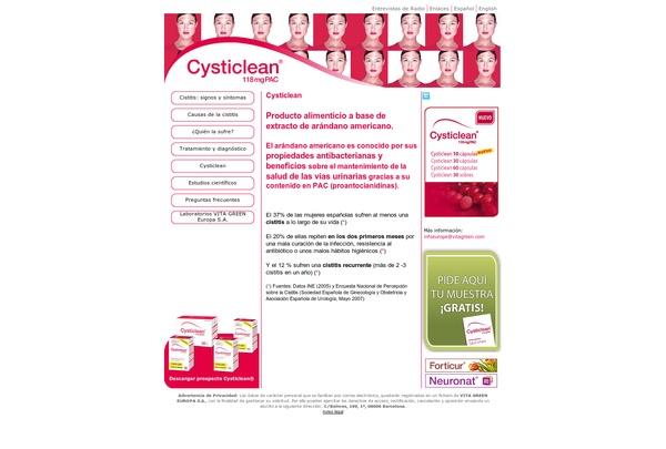 Todo sobre la Cistitis http://www.cysticlean.com
