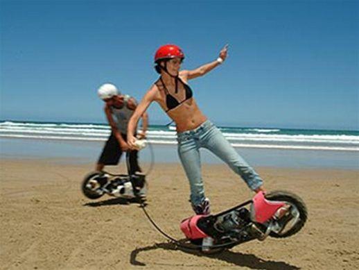 Wheelman Gas Powered Skateboard